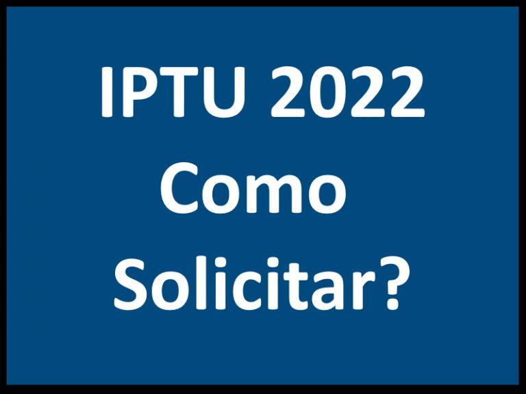 IPTU 2022