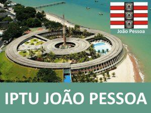 IPTU JOÃO PESSOA