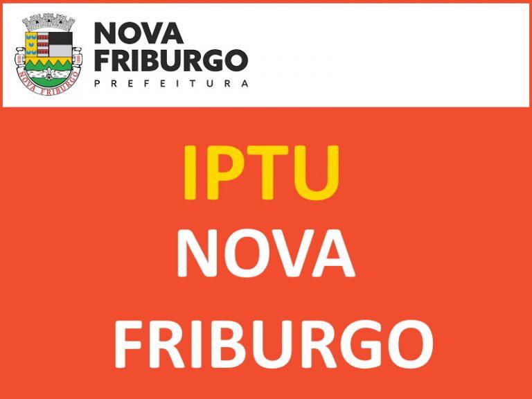 IPTU NOVA FRIBURGO