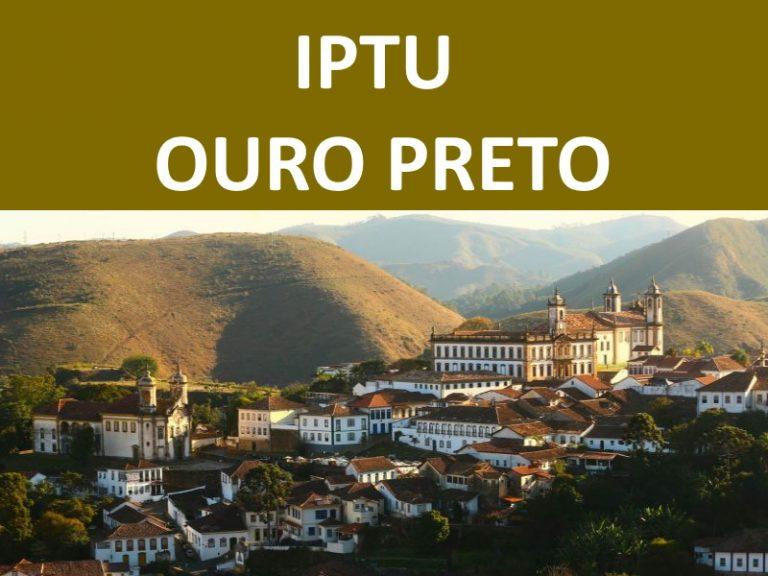 IPTU OURO PRETO