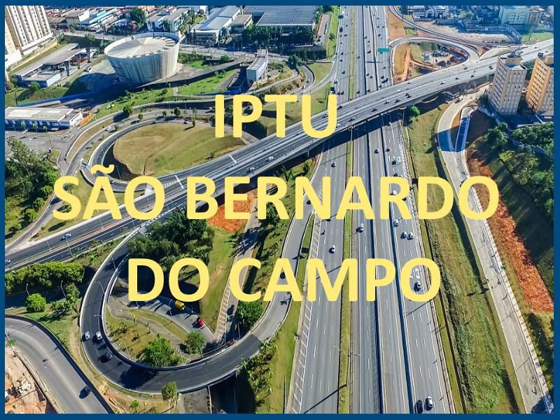 IPTU SÃO BERNARDO DO CAMPO