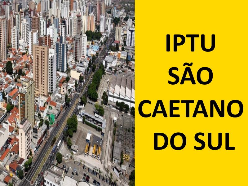 IPTU SÃO CAETANO DO SUL