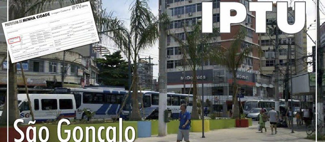 IPTU SÃO GONÇALO