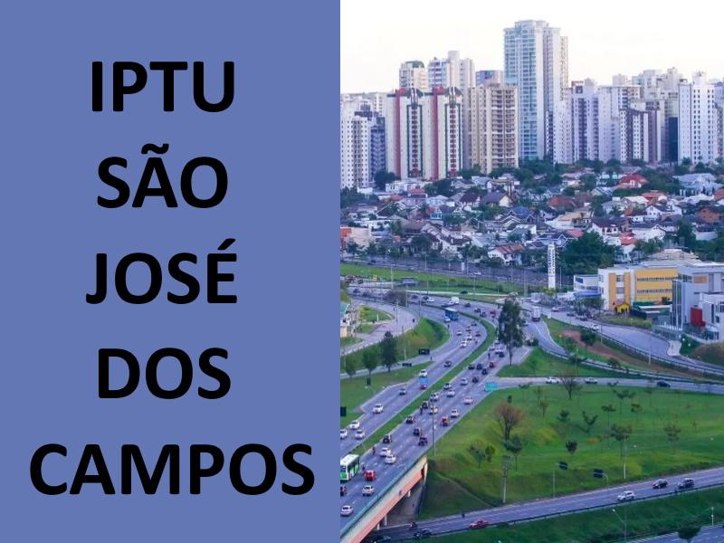 IPTU SÃO JOSÉ DOS CAMPOS