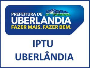 IPTU UBERLÂNDIA