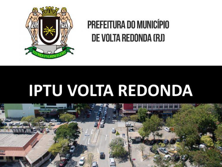 IPTU VOLTA REDONDA